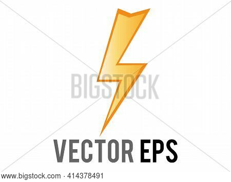 The Isolated Vector Cartoon-styled High Voltage, Lightning, Electricity Or Various Flashes Icon, Dep