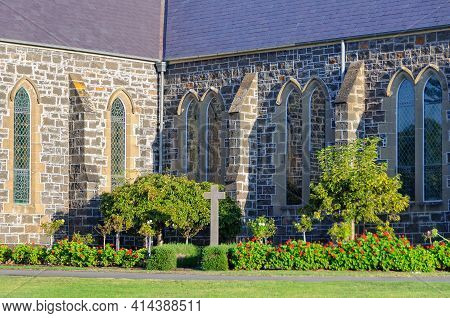 St John's Anglican Church Is One Of Victoria's More Substantial Early Bluestone Churches - Port Fair