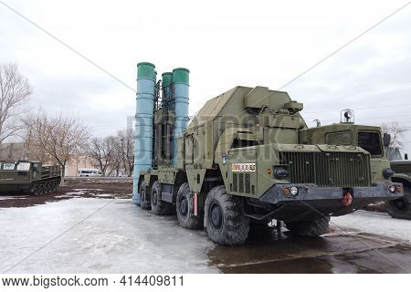 Russian Anti-aircraft Missile System C 300 In Spring Patriot Park