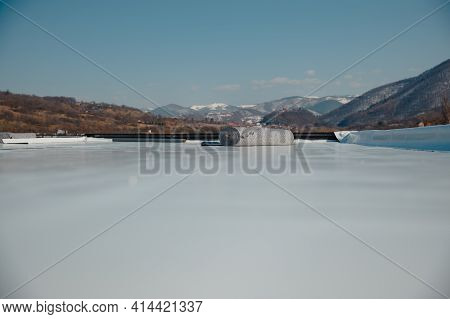 Geotextile Support Layer For Pvc And Epdm Synthetic Membrane Roof