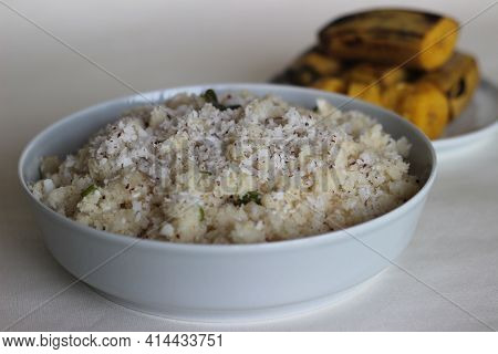 Upma Or Uppuma Is A Common South Indian And Sri Lankan Tamil Breakfast Dish, Cooked As A Thick Porri