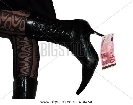 Money Under A Heel
