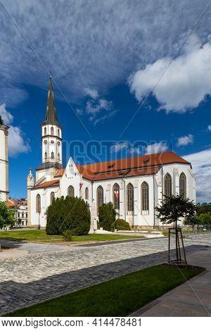 St. James church in Levoca, UNESCO site, Slovakia