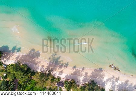 Amazing Nature Background Color Of Turquoise Sea Water And Beautifully Bright