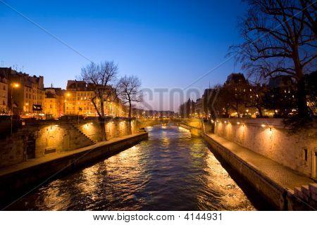 Evening Paris