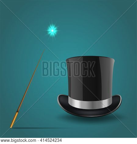 Magic Hat, Top Hat Magic Wand, Magic