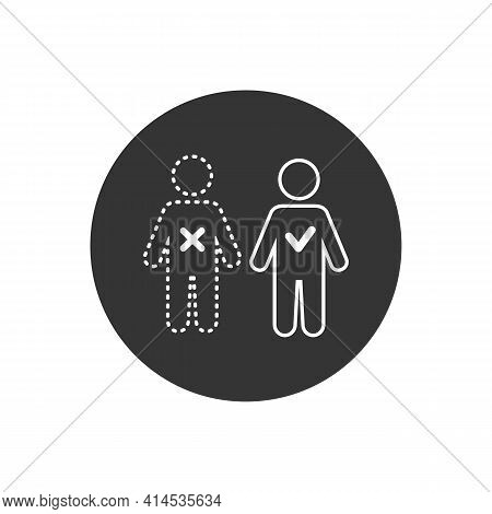 Absent Vector Illustration Can Be Used For Topics Attendance, Absent, Meeting Concept