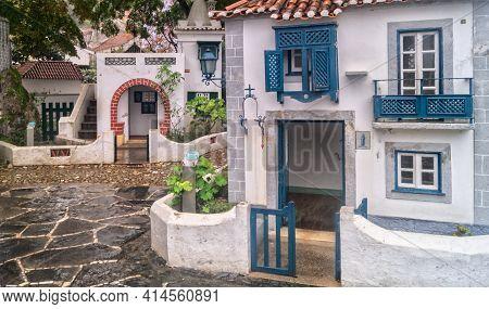 Coimbra, Portugal- November 19 2014: Portugal Dos Pequenitos, A Miniature Park Of Diminutive Version