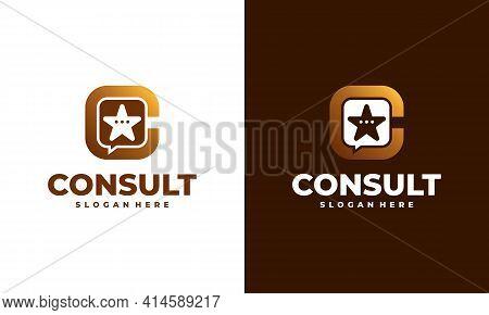 Star Consult Logo Designs Concept Vector, Modern Consulting Agency Logo Template Designs