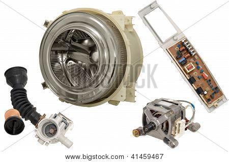 Parts Washing Machine.