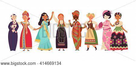 Diverse Women Together. Black Women, Diverse Girls Empowerment. Female Community, Sisterhood, Femini