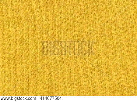 Mustard Yellow Wool Texture Useful As A Background