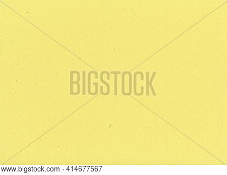 Light Yellow Paperboard Texture Useful As A Background