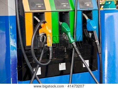 Dispensing Fuel Place.
