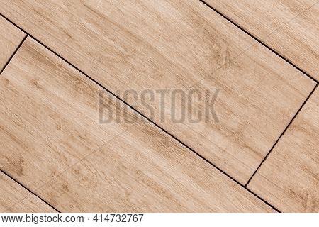 Sample Wood Planks Background, Board Pattern Texture, Hardwood Panel Floor Close Up.