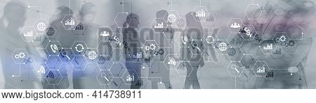Ict - Information And Telecommunication Technology And Iot - Internet Of Things Concepts