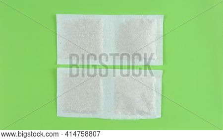 Tea Bag With Herbs , Healing Homeopathic Herbs In Sachet .