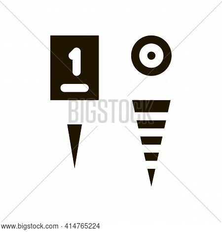 Championship Cup Glyph Icon Vector. Championship Cup Sign. Isolated Symbol Illustration