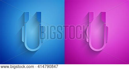 Gold And Silver Meat Tongs Icon Isolated On Black Background. Bbq Tongs Sign. Barbecue And Grill Too