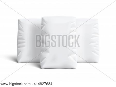 White Bags For Flour Or Other Loose Products