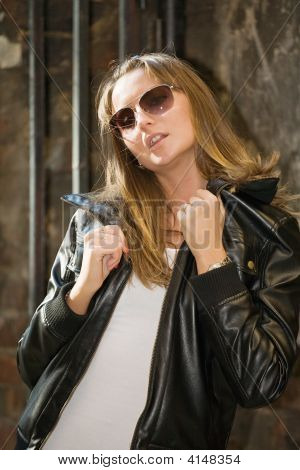 Sexual Girl In Sun Glasses