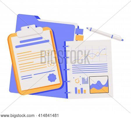 Notebooks, Notepads, Memo Pads, Planners, Organizers For Making Writing Notes And Jotting Isolated O