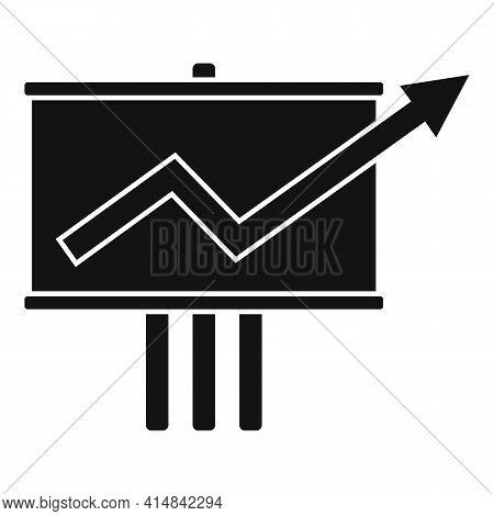 Trader Desk Banner Icon. Simple Illustration Of Trader Desk Banner Vector Icon For Web Design Isolat