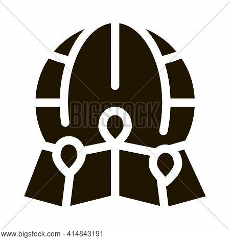 Landscape Ecology Science Glyph Icon Vector. Landscape Ecology Science Sign. Isolated Symbol Illustr
