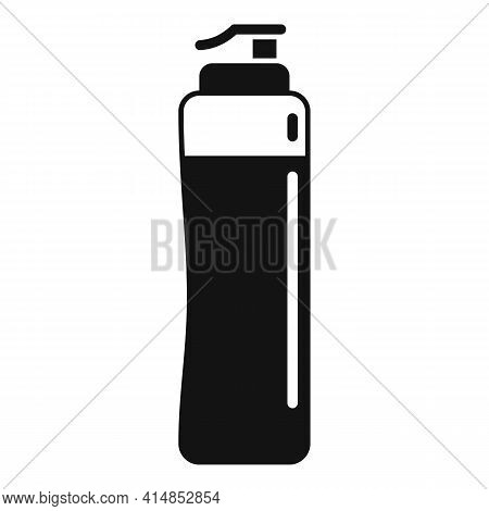 Gym Water Bottle Icon. Simple Illustration Of Gym Water Bottle Vector Icon For Web Design Isolated O