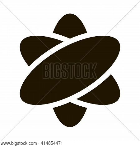 Virtual Reality Glyph Icon Vector. Virtual Reality Sign. Isolated Symbol Illustration