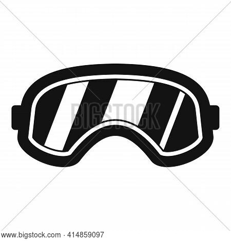 Snowboarding Glasses Icon. Simple Illustration Of Snowboarding Glasses Vector Icon For Web Design Is