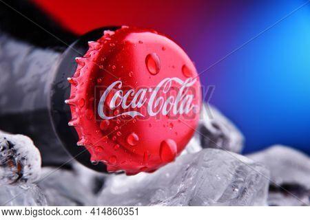 Crown Cap On A Coca-cola Bottle