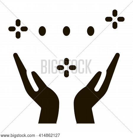 Interracial Idyllic Glyph Icon Vector. Interracial Idyllic Sign. Isolated Symbol Illustration