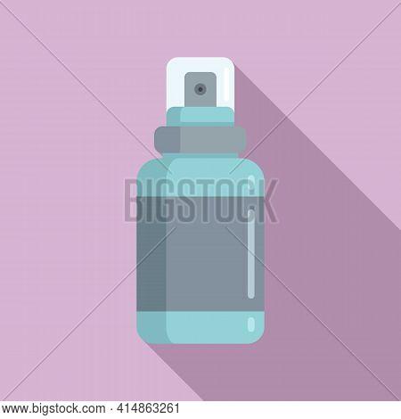 Antiseptic Spray Icon. Flat Illustration Of Antiseptic Spray Vector Icon For Web Design