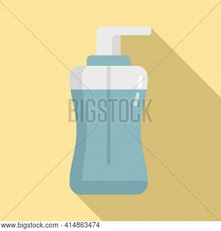 Antiseptic Gel Icon. Flat Illustration Of Antiseptic Gel Vector Icon For Web Design