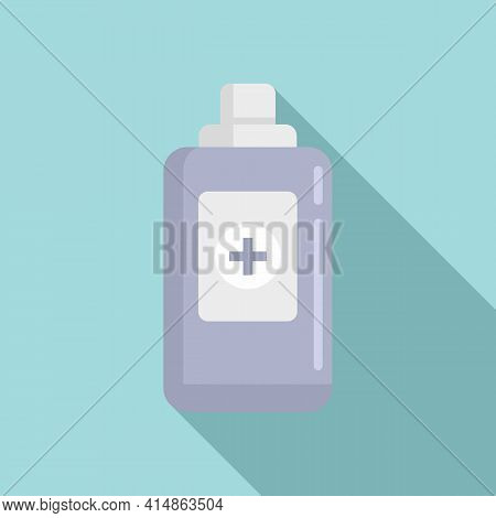 Antiseptic Alcohol Icon. Flat Illustration Of Antiseptic Alcohol Vector Icon For Web Design