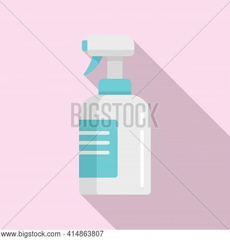 Antibacterial Spray Icon. Flat Illustration Of Antibacterial Spray Vector Icon For Web Design