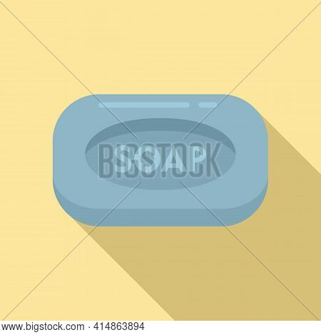 Antiseptic Soap Icon. Flat Illustration Of Antiseptic Soap Vector Icon For Web Design