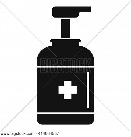 Antiseptic Dispenser Icon. Simple Illustration Of Antiseptic Dispenser Vector Icon For Web Design Is