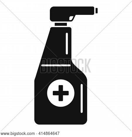 Antiseptic Spray Bottle Icon. Simple Illustration Of Antiseptic Spray Bottle Vector Icon For Web Des