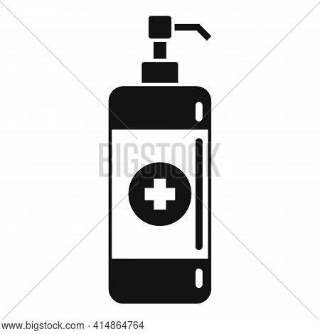Antiseptic Hand Wash Icon. Simple Illustration Of Antiseptic Hand Wash Vector Icon For Web Design Is