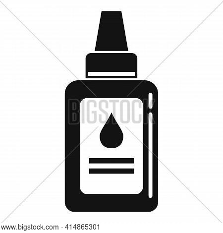 Antiseptic Dropper Icon. Simple Illustration Of Antiseptic Dropper Vector Icon For Web Design Isolat