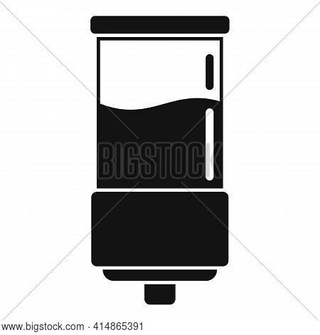 Gel Wall Dispenser Icon. Simple Illustration Of Gel Wall Dispenser Vector Icon For Web Design Isolat