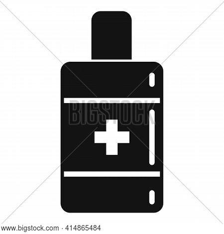 Immune Antiseptic Icon. Simple Illustration Of Immune Antiseptic Vector Icon For Web Design Isolated