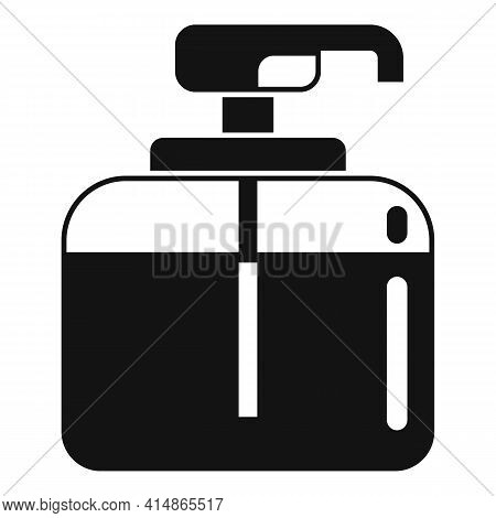 Safe Antiseptic Icon. Simple Illustration Of Safe Antiseptic Vector Icon For Web Design Isolated On