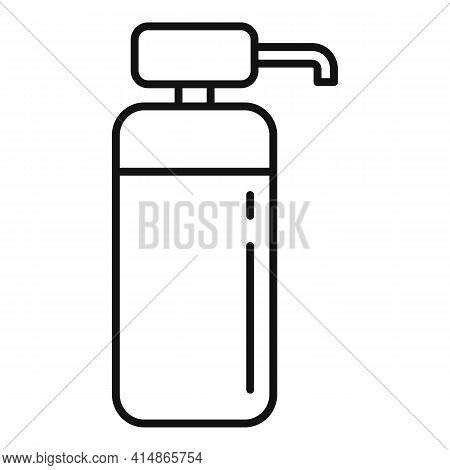 Prevention Antiseptic Icon. Outline Prevention Antiseptic Vector Icon For Web Design Isolated On Whi