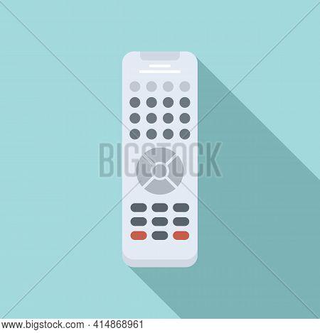 Infrared Remote Control Icon. Flat Illustration Of Infrared Remote Control Vector Icon For Web Desig