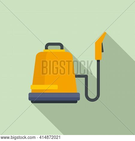 Professional Steam Cleaner Icon. Flat Illustration Of Professional Steam Cleaner Vector Icon For Web