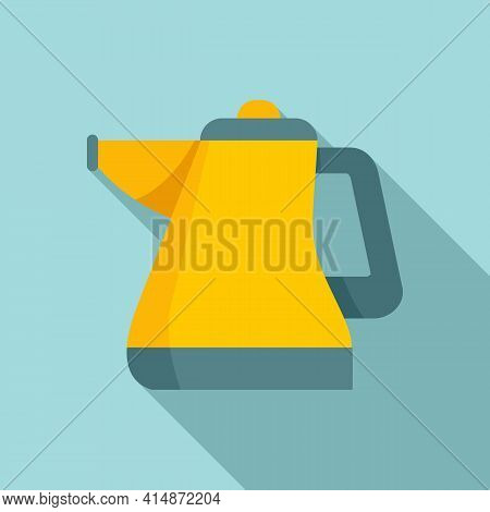 Duster Steam Cleaner Icon. Flat Illustration Of Duster Steam Cleaner Vector Icon For Web Design