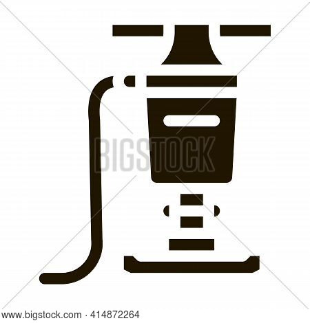 Pavingstone Supply Glyph Icon Vector. Pavingstone Supply Sign. Isolated Symbol Illustration